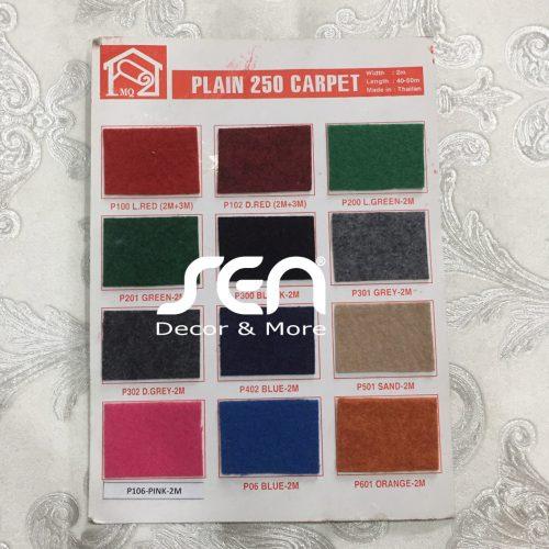 tham van phong plain 250 carpet